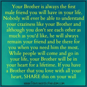 big brother i love my brother quotes i love my brother quotes brother ...