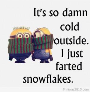 cold cold minions cold minions image cold outside outside