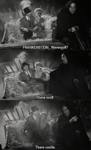 Tag Archives: Young Frankenstein quotes