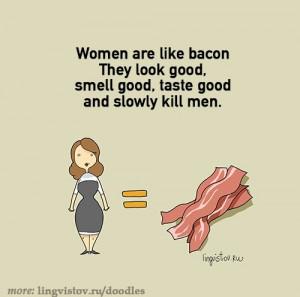 funny-bacon-woman-kill-man