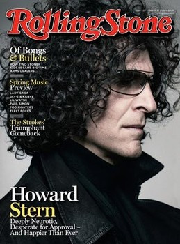 Howard Stern opens up in the latest issue of Rolling Stone.