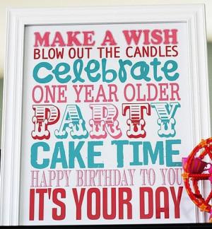 Happy Birthday to me, Happy Birthday to me, Happy Birthday dear me,