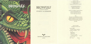 Beowulf Book Cover There are also beowulf books