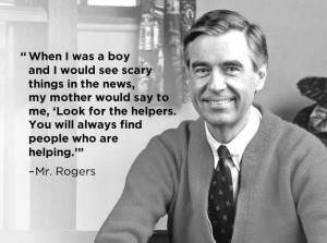 Fred Rogers Helpers Quote