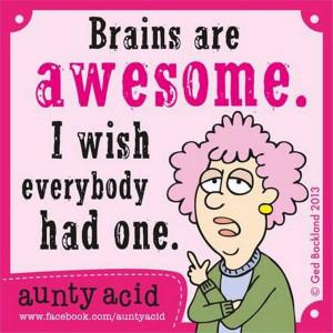 Seven Aunty Acid cartoons