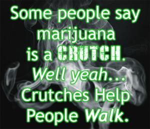 Smoking Marijuana Quote