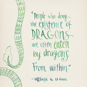Happy birthday to Ursula K. Le Guin!