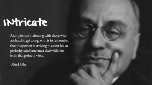 Quote – Alfred Adler