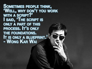 Film Director Quotes - Wong Kar Wai - Movie Director Quotes # ...