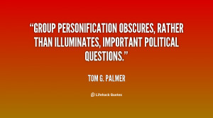 Group personification obscures, rather than illuminates, important ...