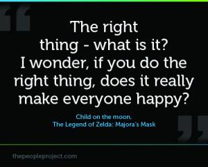 ... everyone happy child on the moon the legend of zelda majora s mask