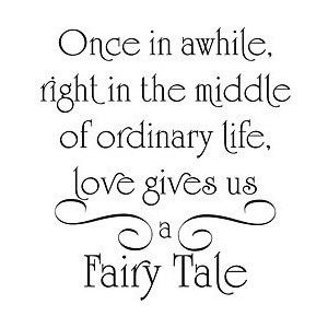 Yes, fairy tales happens.