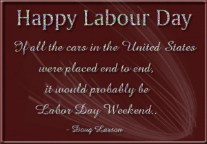 Funny Labor Day Poems: A Poem About The Labor Day Weekend With Cars
