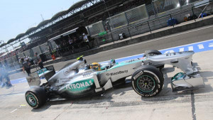 Mercedes-F1-Lewis-Hamilton-at-End-of-Qualifying-for-2013-Hungarian ...