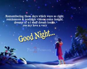 GOOD NIGHT SMS ~ N.O.W