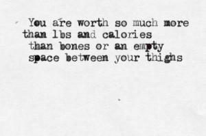 quotes anorexia bulimia ana mia eating disorders typewriter ...