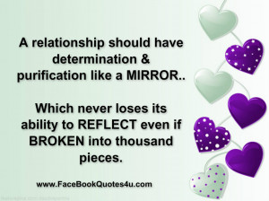 relationship should have determination &