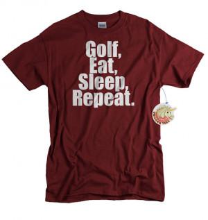 Golf T shirt funny golfer gift men women youth teen ladies tshirt ...