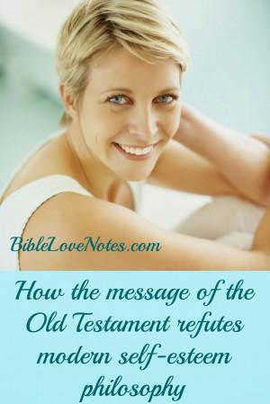 bible verses about self esteem