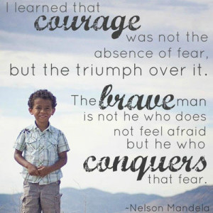 courage hope life Positive