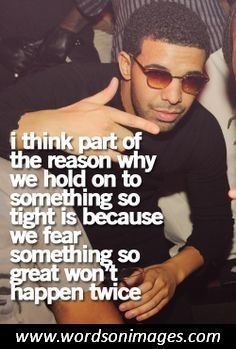 Drake famous quot...