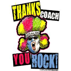 crazy_thanks_coach_greeting_card.jpg?height=250&width=250&padToSquare ...