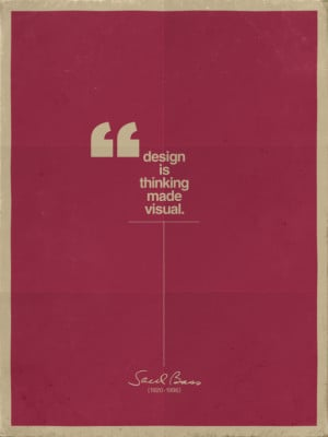 Design Quote by Saul Bass