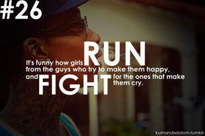 Good quotes life sayings run fight