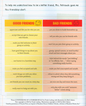 Good friend/bad friend chart. is creative inspiration for us. Get more ...