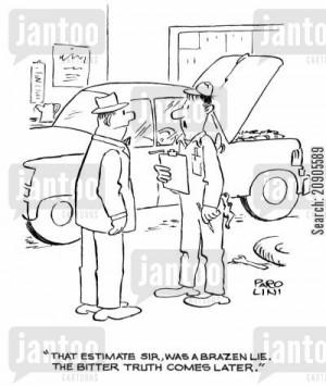 Car Repair Cartoons