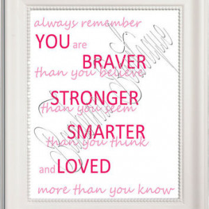 8x10 Always Remember Quote from Winnie the Pooh immediate digital ...
