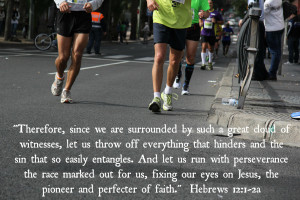 Hebrews 12.1 2a Bible Verse