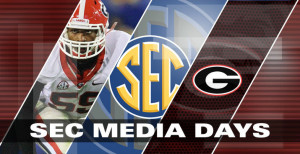 In case you're at work and can't listen to UGA's SEC Media Days ...