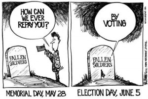 George Russell: Importance of voting