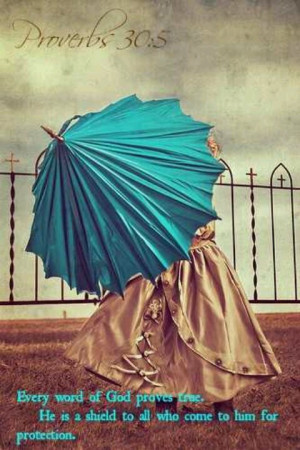 God's protectionTurquoise Blue, Proverbs, Blue Umbrellas, Words Of God ...