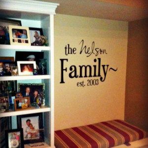 Decorating Family Room Quotes