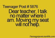 dear teacher... More
