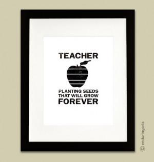 Teacher Quote Black