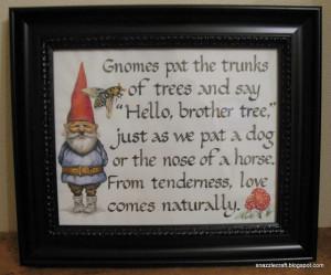 gnomes quote #gnomes #quote #nature