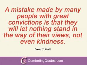 Bryant H. Mcgill Quotations