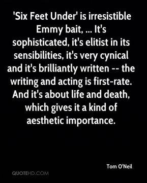 Tom O'Neil - 'Six Feet Under' is irresistible Emmy bait, ... It's ...