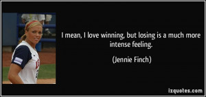 More Jennie Finch Quotes