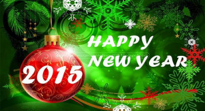 Happy new year sms for him 2015