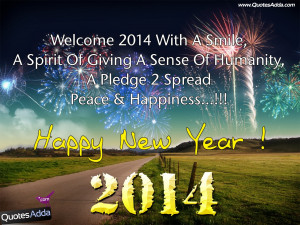 Happy New Year Quotations, 2014 Happy New Year E Cards, 2014 Happy New ...