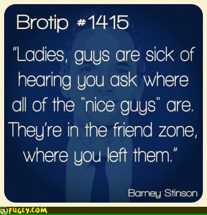 Nice Guys Friendzone Quote