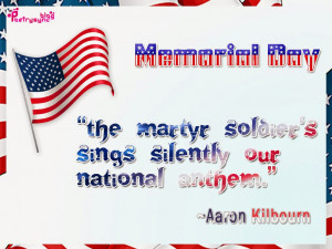 The martyr soldier's sings silently our national anthem...!!!