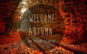 First Day of Autumn 2014, Wellcome Autumn Season