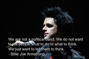 Billie joe armstrong, quotes, sayings, famous, musicians
