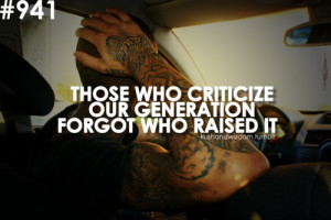 kushandwizdom quote quotes criticize generation youths young people ...