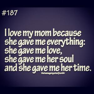 love my mom! #mom #quotes #love #respect #mother #mama #ilovemymom ...